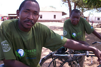 Photo: October - 16th - Community Trash Removal and Tree Planting. These local business owners took part. After people received Eco-Pesa for the trash they collected - they could use it at various shops in the community.
