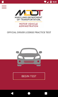 MD Practice Driving Test- screenshot thumbnail