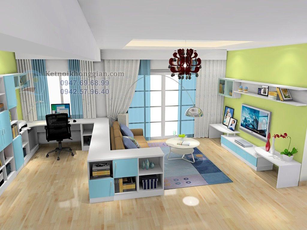 thiết kế nội thất phòng khách tinh tế