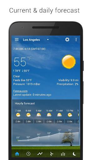 Sense Flip Clock & Weather 5.77.0.2 screenshots 2