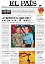 Photo: Las autonomías hacen frente al mayor recorte de su historia, Israel dispara sobre Siria por primera vez en 40 años, el correo electrónico que acabó con Petraeus y el sindicato SUP apoyará a los agentes que se nieguen a los desahucios, entre los titulares de nuestra portada. http://ep00.epimg.net/descargables/2012/11/12/56693e957767452c954f3a99e172deb4.pdf