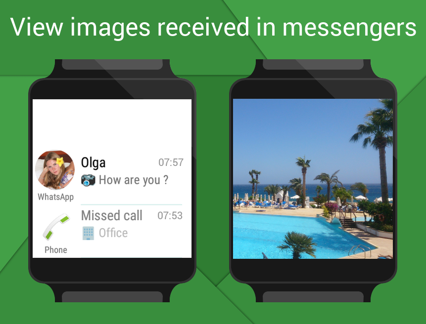 Informer for Android Wear - smart notifications- screenshot