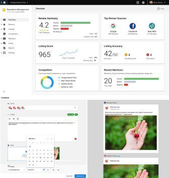 Social Marketing and Reputation Management Dashboards