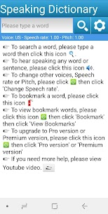 Speaking Dictionary | Free Speaking Dictionary  2020 1