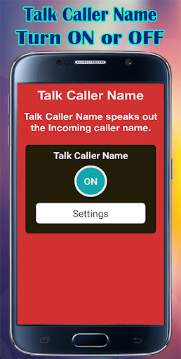 Caller Name Talker Announcer
