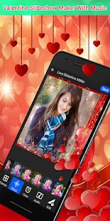 Valentine Video Slideshow Maker With Music 2018 - náhled