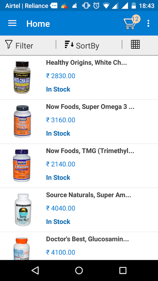 Health Mall - Best Online Nutrition Store- screenshot