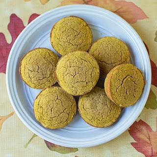 Low Carb Coconut Flour Pumpkin Muffins.