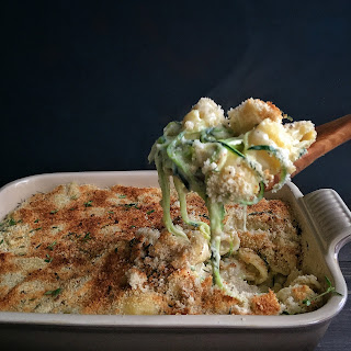 Camembert Mac & Cheese with Zoodles