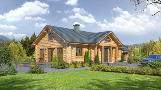 projekt Chmielów 3 dw z garażem