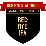 Button Red Rye's at Night