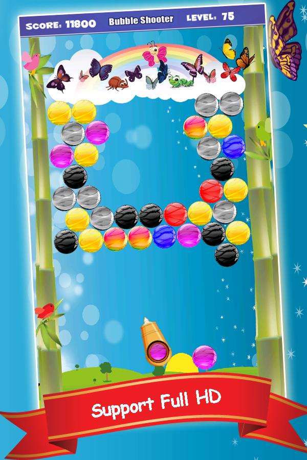 bubble shooter hd games