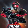 VR AR Dimension - Robot War Galaxy Shooter