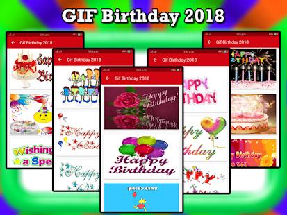Gif Birthday 2018 & Gif Birthday Wishes 2018 - náhled