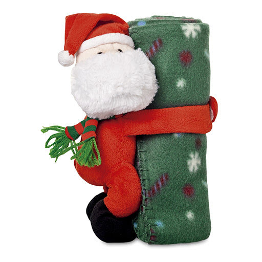 Christmas Soft Toys to Print - Santa Teddy