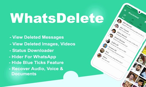 WhatsDelete: View Deleted Messages & Status saver 2.1.37 Mod APK Updated Android 1