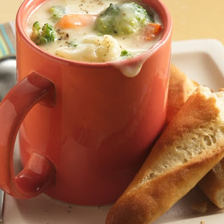 Spicy Mexican Cheese Chowder.