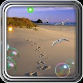 Hot Sand of Beach LWP