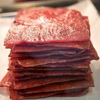 Pork Jerky Recipes.