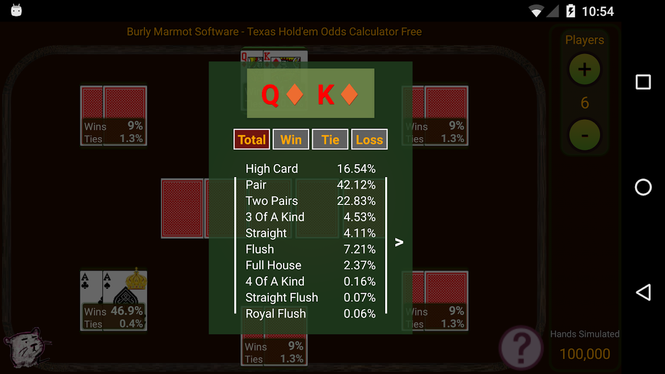 Hold'em Odds Calculator Free – (Android Apps) — AppAgg