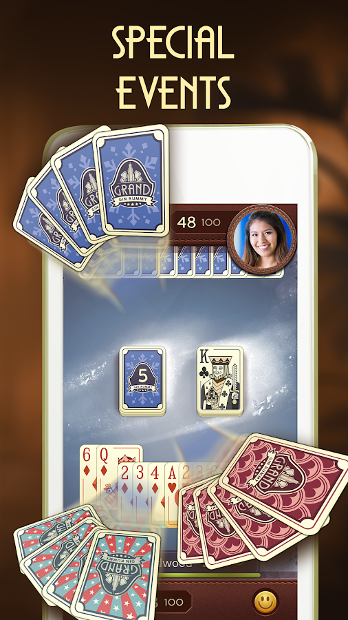 Grand Gin Rummy - Free Card Game With Real People- screenshot