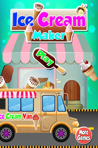 冰淇淋機遊戲 - 烹飪