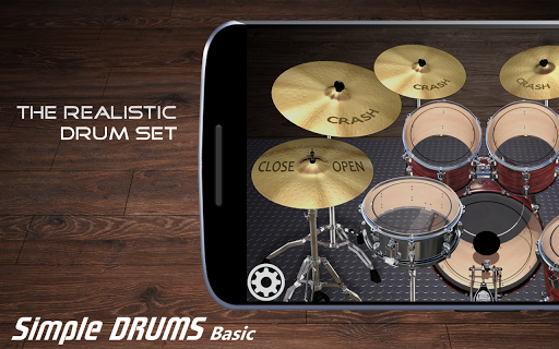 Simple Drums Basic - Virtual Drum Set 1.2.9 screenshots 1