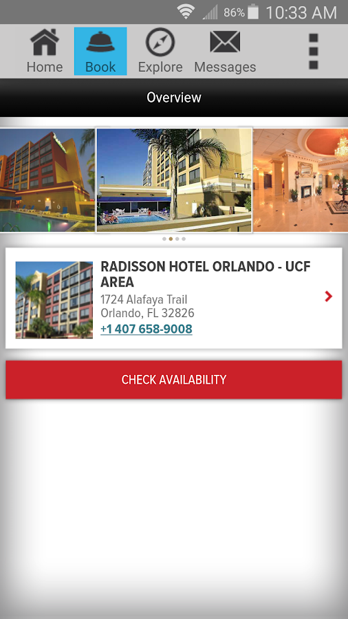 Club Carlson — Hotel Rewards - screenshot