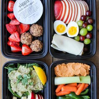 4 Healthy Snack Box Ideas.