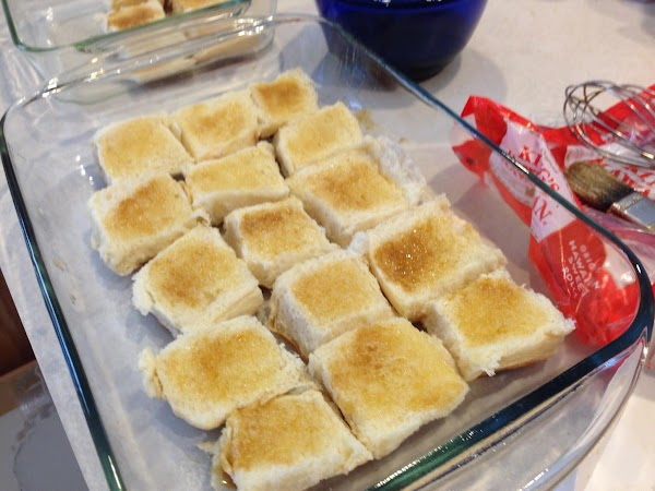 Melt butter and mix mustard, brown sugar, and worcestershire sauce in with it. ...