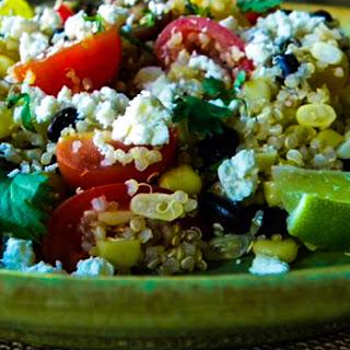 Corn, Black Bean, and Quinoa Salad