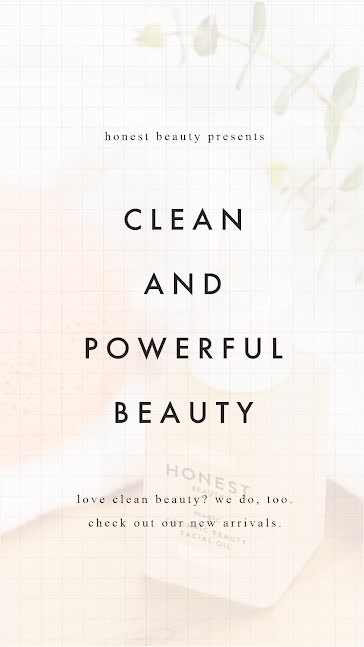 Clean Beauty - Facebook Story template