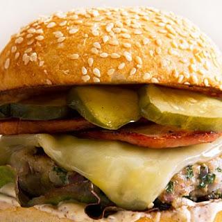 Cuban Turkey Burgers