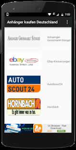 Anhänger kaufen Deutschland - náhled