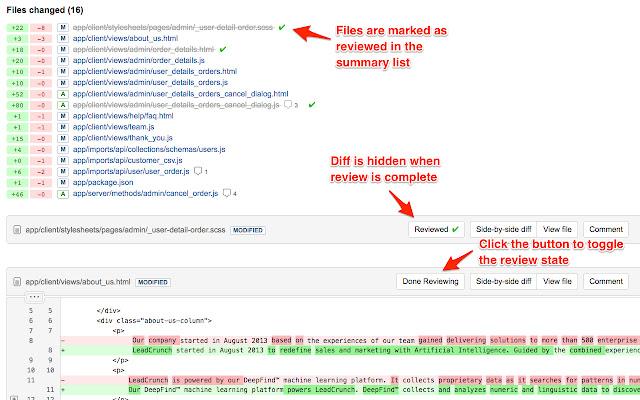 BitBucket Pull Request Review Helper
