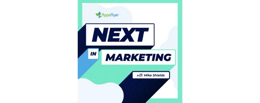Next in Marketing Podcasts logo