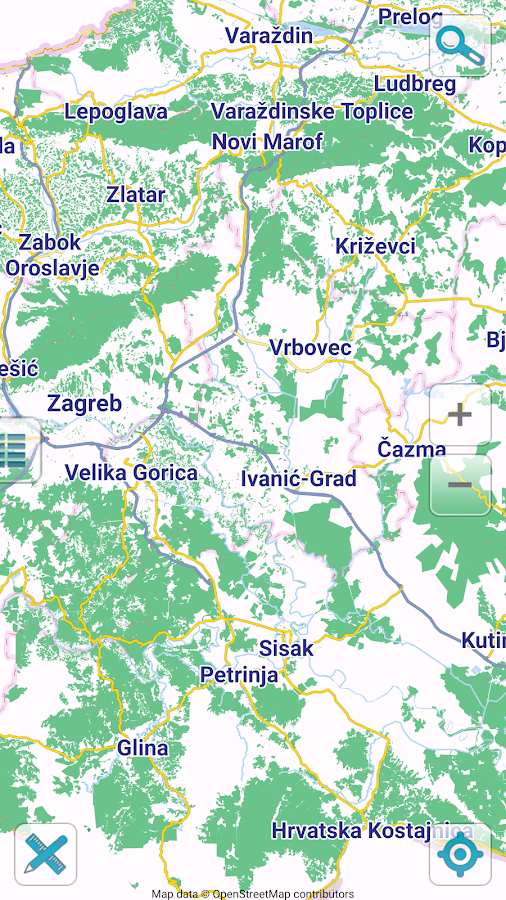 Map Of Croatia Offline Android Apps On Google Play - Croatia map