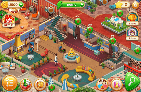 Hidden Hotel Mod Apk 1.1.46 (Unlimited Energy + Coins + Star) 8