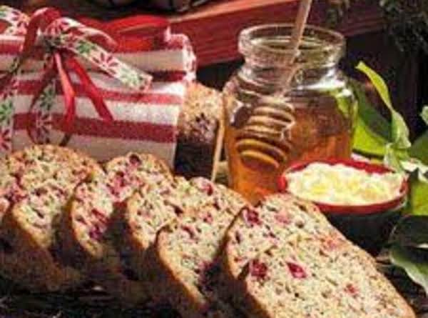 Cranberry Poppy Seed Loaf Recipe