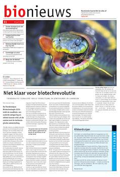 laatste editie van bionieuws