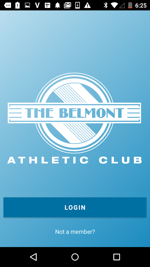 Belmont Athletic Club- screenshot