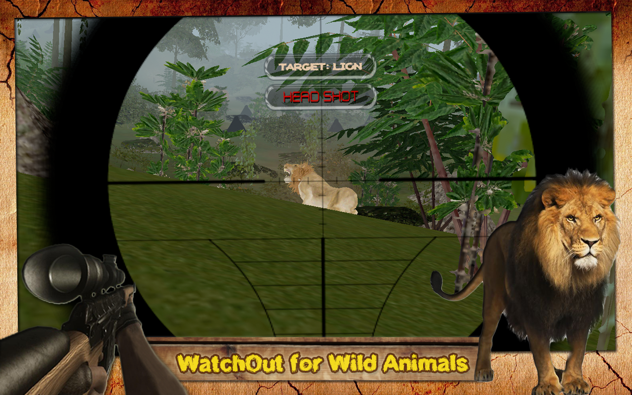 Jungle Animal Hunting Quest 3D- screenshot