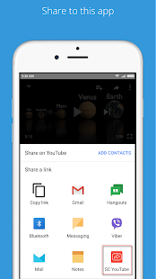 Shortcuts for YouTube - náhled