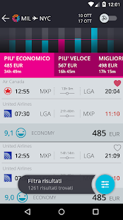momondo Voli e Viaggi Low Cost- miniatura screenshot