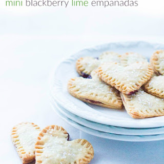 Mini Blackberry Lime Empanadas