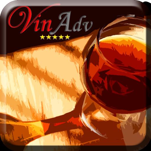 Vino VinAdvisor LOGO-APP點子
