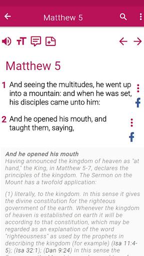 New King James Version Bible 1.0 screenshots 8