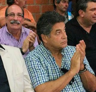 Sergio Cuello, junto a Armando Borches, de Producción.