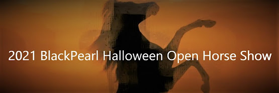 Halloween Open Horse Show Sponsorships