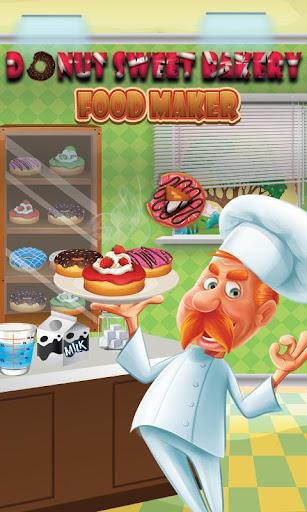 Donut Maker Shop: Dessert Food Cooking 1.0 screenshots 5